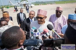 Is there anybody that doesn't fall sick?- Buhari said as he departed for London to see an ENT doctor today